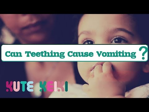 Can Teething Cause Vomiting in Infants - Cause of Vomiting in Teething Babies