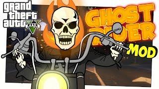 IL RITORNO DEL GHOST RIDER! (GTA 5 Marvel Mod ITA GhostRider Funny Moments)