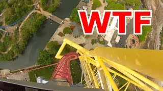 RIDING THE COUNTRY'S FASTEST ROLLER COASTER!!