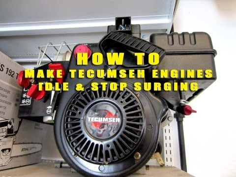 0 10 Volt Wiring Clarion Vrx486vd Diagram How To Make Your Tecumseh Snowking Engine Idle & Stop Surging - Youtube