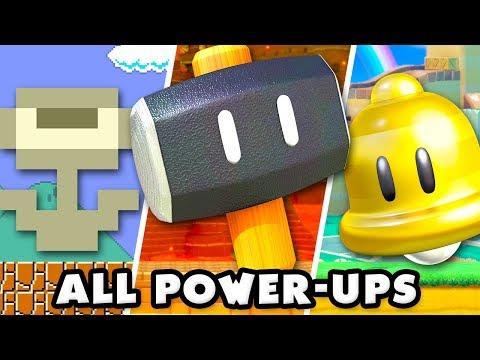 Super Mario Maker 2 - All Power-Up Items!