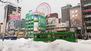 札幌市電 3300形 路面電車