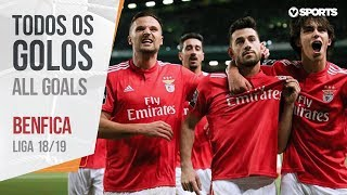 Benfica: All Goals (Portuguese League 18/19)