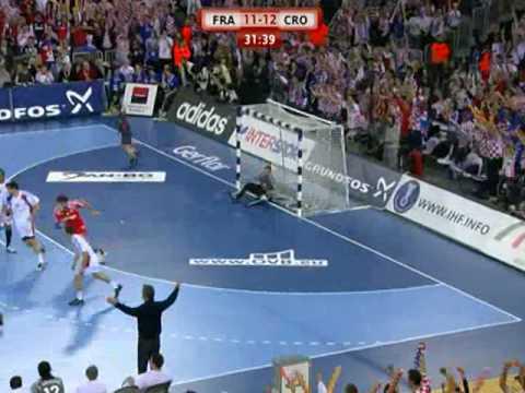 croatia vs france handball live