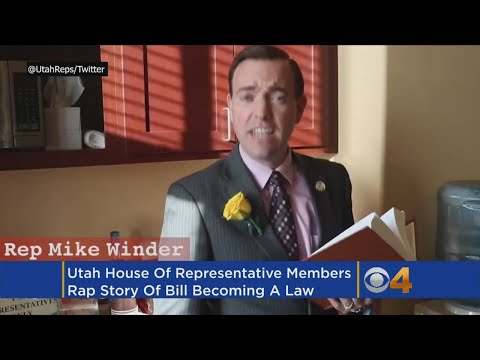 Utah Legislature Raps About How A Bill Becomes A Law -- And It Does Not Rock
