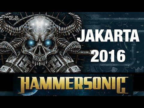Hammersonic Metal Festival 2016 Jakarta Indonesia Suffocation Onslaught Burgerkill Drowning Pool