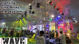 Tour Of Pro Wave Dj Expo Lighting, Line Array, Amplifier