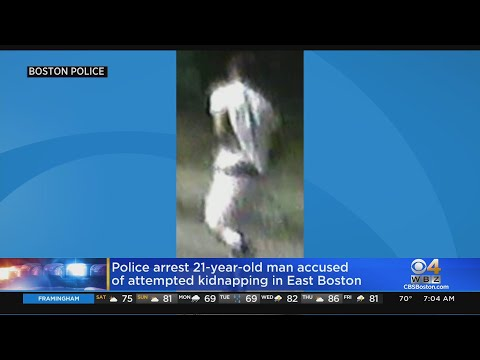 Police Arrest 21-Year-Old Accused Of Attempted Kidnapping In East Boston