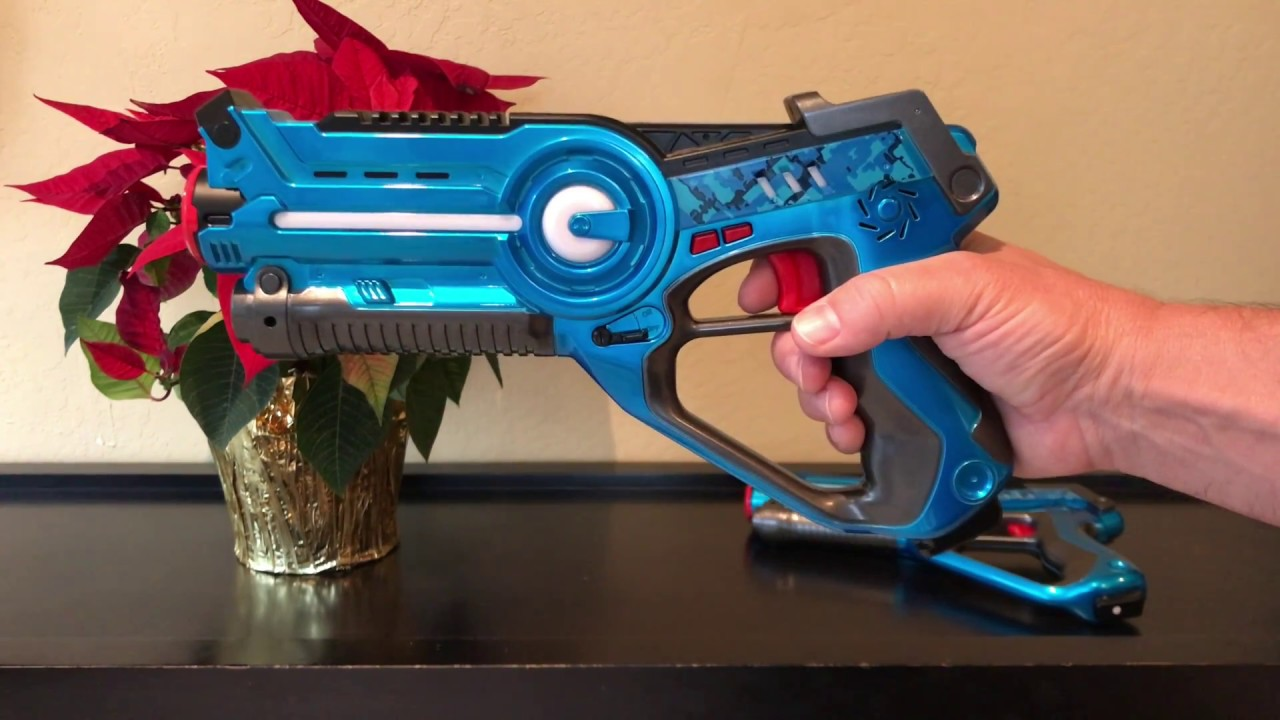 Laser Tag Gun Set Legacy Toys Guns Review