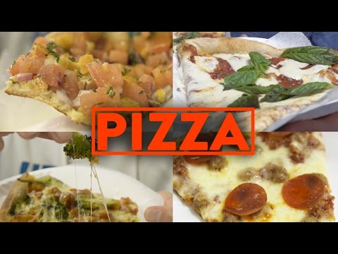 FUNG BROS FOOD: NY Pizza Slices (WE EAT 13 SLICES)