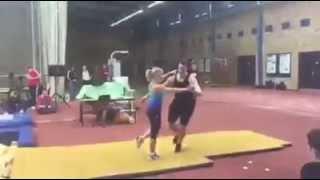 Савченко- Массо. Тренировка