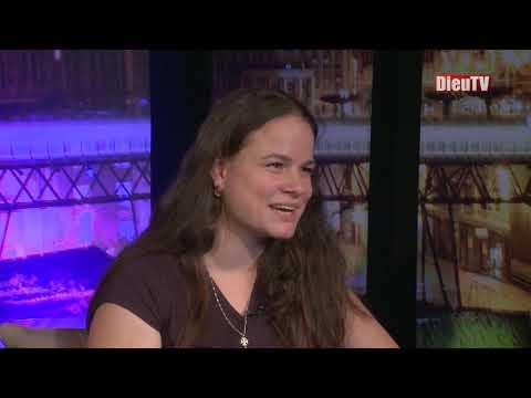 Bref, j'ai fait une interview TV en tant que maman éco-responsable.