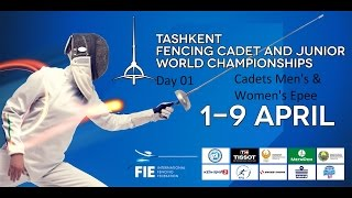 Cadets Fencing World Championships 2015 day01 - Finals