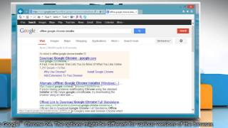 How to install Google™ Chrome on multi-user environment on a Windows® 8.1 PC