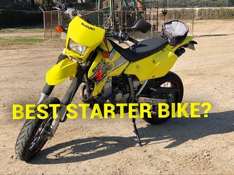 WHY A DRZ 400 SHOULD BE YOUR FIRST BIKE