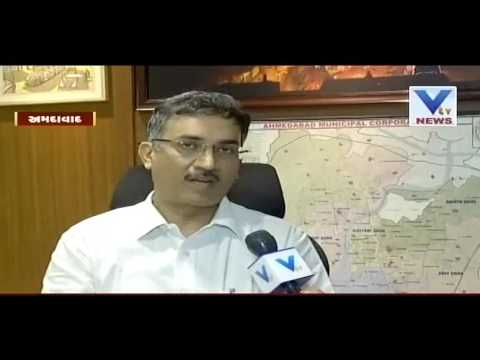 Mukesh Kumar took charge of the Ahmedabad Municipal Corporation