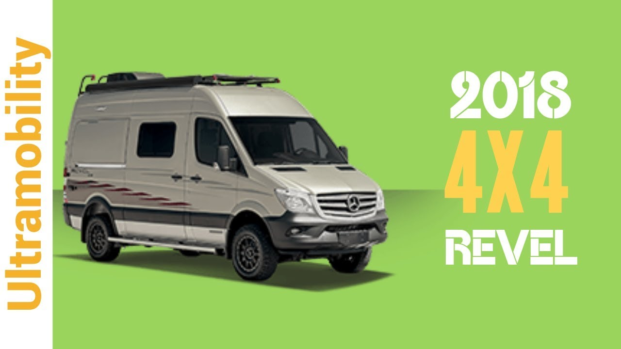 2018 winnebago revel review 4x4 4 season short sprinter camper van youtube. Black Bedroom Furniture Sets. Home Design Ideas