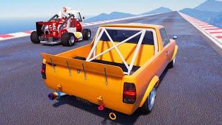 GTA 5 NEW Update / Warrener HKR (Datsun Sunny Hakotora Pickup)