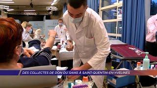 Yvelines | Des collectes de don du sang à Saint-Quentin-en-Yvelines