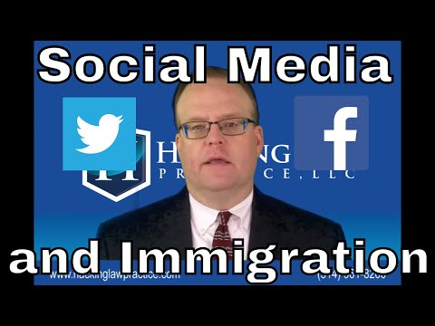 Social Media and Immigration