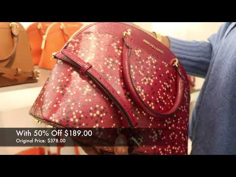 MICHAEL KORS & CHRISTMAS COACH OUTLET BROWSING MUSIC OVERLAY FIESTA VIDEO! (2017 EDITION)