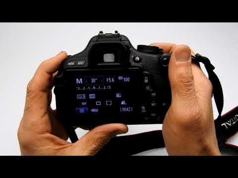 Setting DSLR Shutter Speed and Aperture in Manual Mode for ...