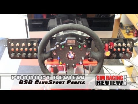 Sim Racing Product Review - DSD's New ClubSport Button Box Panels