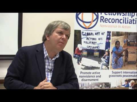Justice and Peace Scotland Nonviolence Conference - John Dear talk