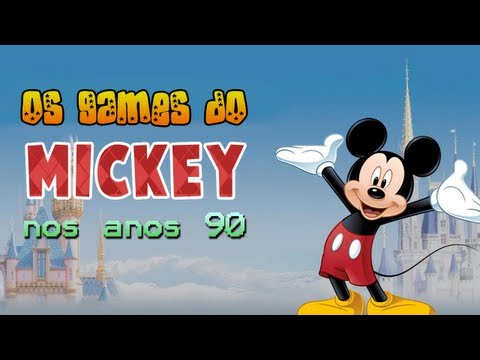 Os games do Mickey nos anos 90 [Canal 90]