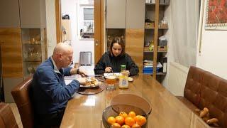علاش غبرت عَل اليوتوب 😢😢عشية معايا مع تحضير طبخ ألماني لذيذ 😋😋😋