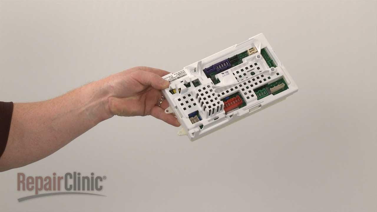 Whirlpool Washer Wiring Diagram Seven Pin Trailer Plug Top-load Control Board #w10480177 - Youtube