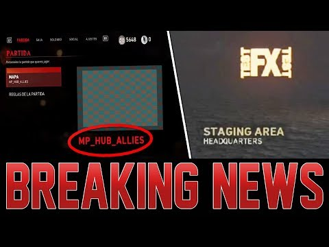 SECRET WW2 ZOMBIES HEADQUARTERS MAP FOUND! 3 TIMES XP REVEALED AND EXPLAINED!