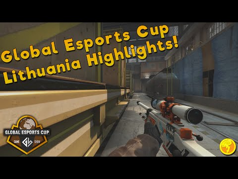 CS:GO - Global Esports Cup Lithuania 2016 Group Stage Highlights