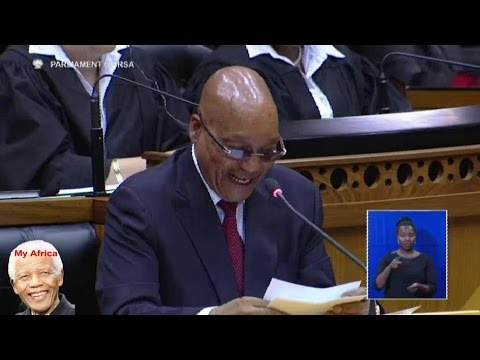 Idiot. Jacob Zuma Laughs About The Drought And Water Crisis In SA