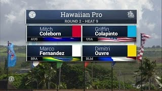 2016 Hawaiian Pro: Round Two, Heat 9
