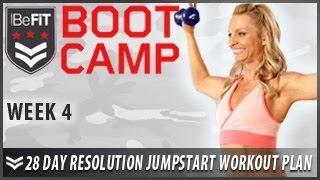 28 Day Resolution Jumpstart Workout Plan: Week 4- BeFiT Bootcamp