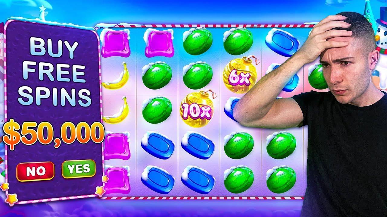$50,000 Bonus Buy on SWEET BONANZA XMAS 🍬 (50K Bonus Buy Series #14)