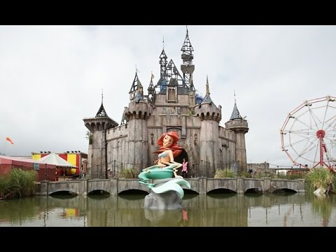 'Dismaland': Banksy's Anti-Disney Theme Park - YouTube