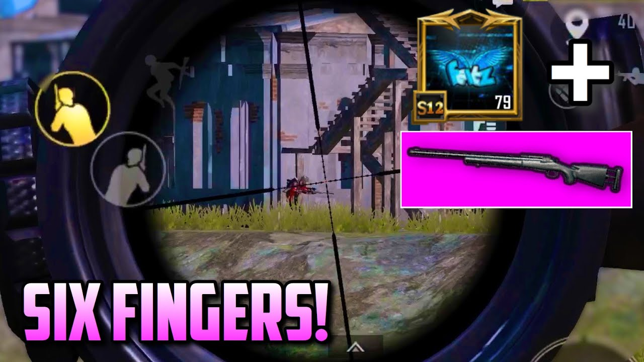 SIX FINGER claw CLUTCHES final circle with SNIPER! | PUBG Mobile Solo vs Squads
