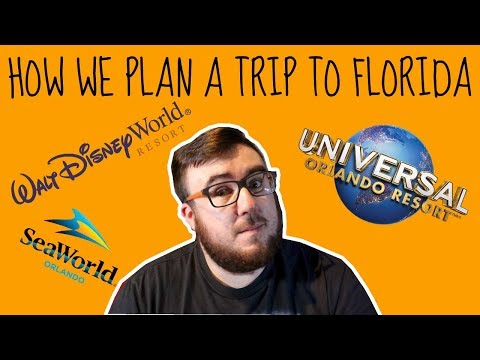 Florida Planning - How We Plan Our Trip