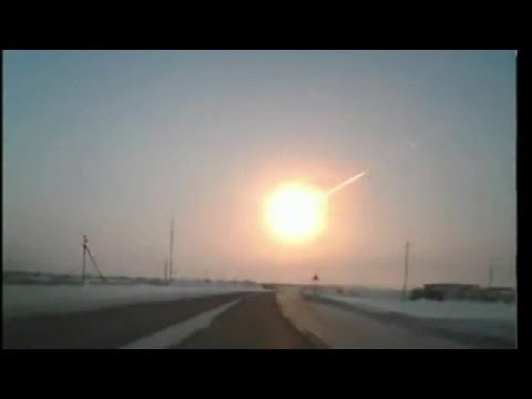 Terrible, Second Meteor shower hit Russia, Real Video! Chelyabinsk, Hundreds injured, Unbelievable