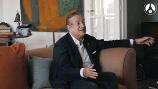 Interview de Charles Villeneuve, ancien président du Paris Saint Germain. 1/2