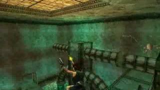 TRLE Walkthrough Underworld UB3 - The Tower of Babel (Part 01)