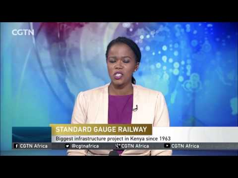Chinese-built railway line in Kenya to be launched