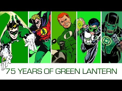 75 Years, 75 Green Lanterns