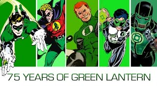 75 Years, 75 Green Lanterns