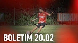 BOLETIM DE TREINO: 20.02   SPFCTV