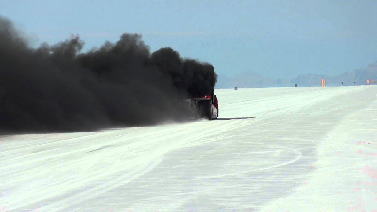 Launch Of Joint Venture Race Truck Bonneville Salt Flats
