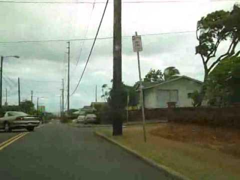 Harding Ave into Kaimuki