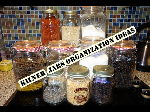 Kilner jar storage ideas/ review. AIRTIGHT KILNER GLASS JARS